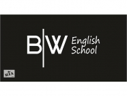 English school Black and White