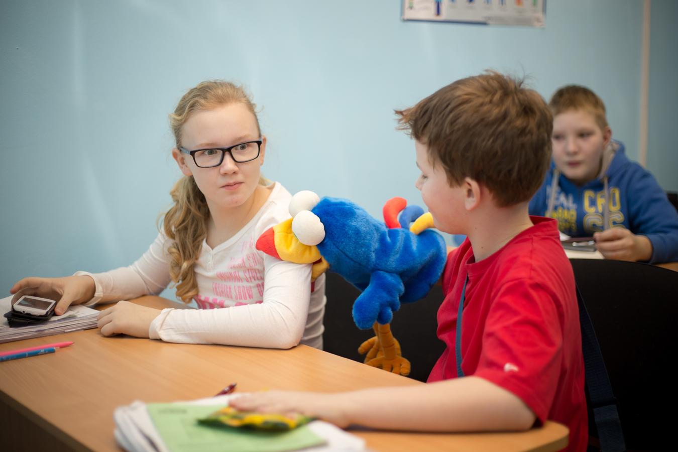 Английский язык для детей - занятия в школе Helen Doron в ...